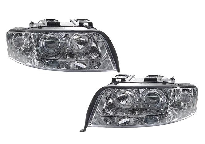 Дьявольские глазки — Audi A4, 2.0 л., 2009 года на DRIVE2 | 470x667