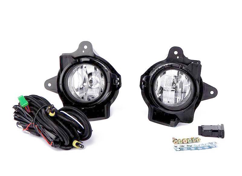 Комплект противотуманных фар с проводкой и кнопкой (установочный) для Тойота Хайлюкс - Toyota Hilux | FD-44555 - купить