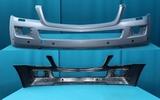 Бампер передний с отверстиями под омыватель под парктроники под дхо для Мерседес X164 Гл-класс / Mercedes X164 Gl-class