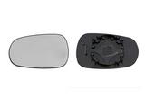 Стекло левого зеркала с подогревом  для Ниссан Микра / Nissan Micra
