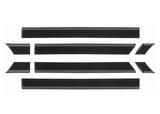 МОЛДИНГ КУЗОВА Л+П (КОМПЛЕКТ) (8 шт)