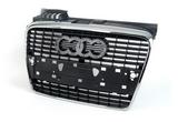 Решётка радиатора хром для Ауди А4 Б7 / Audi A4 B7