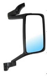 Зеркало правое большое в сборе механическое с подогревом для Вольво Фн / Фм / Volvo Fh / Fm
