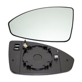 Стекло левого зеркала с подогревом  для Шевроле Круз / Chevrolet Cruze