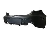 Бампер задний грунт черный для Мазда 3 - 2 Поколение / Mazda 3 - 2 Поколение