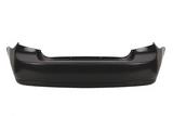 Бампер задний чёрный  для Шевроле Лачетти / Chevrolet Lacetti/ Daewoo Nubira