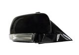 Зеркало правое электрическое с указателем поворота чёрное для Митсубиси Паджеро / Монтеро / Mitsubishi Pajero - 4 Поколение