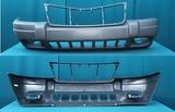 Бампер передний с отверстиями под птф серый laredo для Джип Гранд Чероки / Jeep Grand Cherokee - 2 Поколение Wj Wg