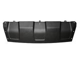 Спойлер заднего бампера черный для Рено Дастер / Renault Duster