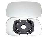 Стекло левого зеркала хром   для Фольксваген Пассат Б3 / Volkswagen Passat B3