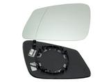 Стекло левого зеркала с подогревом  для Бмв Е84 X1 / Bmw E84 X1