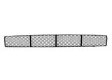 Решётка в передний бампер центральная сетка с отверстиями под птф чёрная для Форд Фокус / Ford Focus - 1 Поколение