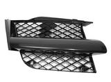 Решётка радиатора правая черная для Митсубиси Аутлендер / Mitsubishi Outlander - 1 Поколение Cu0w