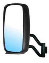 Зеркало левое большое с кронштейн механическое с подогрев для Вольво Фн / Фм / Volvo Fh / Fm