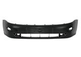 Бампер передний с отверстиями под птф чёрный для Форд Фокус / Ford Focus - 1 Поколение