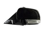 Зеркало левое электрическое с указателем поворота чёрное для Митсубиси Паджеро / Монтеро / Mitsubishi Pajero - 4 Поколение