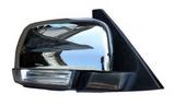Зеркало правое электрическое с подогревом автоскладыватель с поворотником подсветка хром для Митсубиси Паджеро / Монтеро / Mitsubishi Pajero - 4 Поколение
