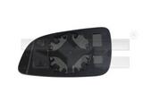 Стекло правого зеркала  для Опель Астра Х / Opel Astra H