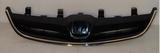 Решётка радиатора чёрная с хром молдингом  для Хонда Цивик Седан / Купе Хэтчбэк / Honda Civic - 7 Поколение Седан / Купехетчбек