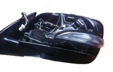 Зеркало левое без крышки  для Лексус Гх 460 / Lexus Gx 460