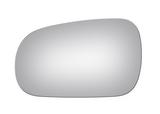 Стекло левого зеркала хром    для Хонда Цивик / Honda Civic - 6 Поколение