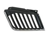 Решетка радиатора правая хром-черная для Митсубиси Л200 / Mitsubishi L200