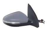 Зеркало правое электрическое с подогревом указателем поворота с крышкой для Фольксваген Гольф 6 / Volkswagen Golf 6