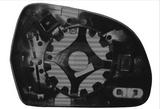 Стекло левого зеркала с подогревом  для Ауди А3 8р / Audi A3 8p