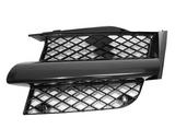 Решётка радиатора левая черная для Митсубиси Аутлендер / Mitsubishi Outlander - 1 Поколение Cu0w