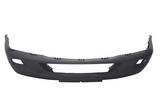 Бампер передний с отверстиями под птф чёрный для Мерседес Спринтер / Mercedes Sprinter