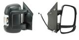 Зеркало правое механическое с поворотником для Ситроен Джампер / Citroen Jumper