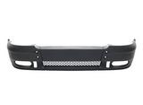 Бампер передний с отверстиями под птф чёрный для Форд Транзит / Ford Transit Mark 6