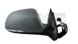 Зеркало правое электрическое с подогревом с указателем поворота подсветка автоскладывание грунтованное  для Шкода Октавия / Skoda Octavia - 2 Поколение