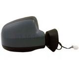 Зеркало правое электрическое с подогревом с датчиком температуры грунт  для Рено Логан - 2 Поколение / Renault Logan - 2 Поколение