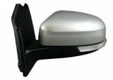 Зеркало левое электрическое с подогревом с автоскладыванием с поворотником асферическое грунт для Форд Фокус / Ford Focus - 3 Поколение