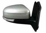 Зеркало правое электрическое с подогревом с автоскладыванием с поворотником с датчиком температуры асферическое грунт для Форд Фокус / Ford Focus - 3 Поколение