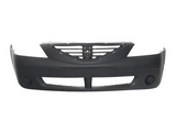 Бампер передний с заглушками чёрный dacia для Рено Логан / Renault Logan - 1 Поколение
