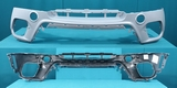 Бампер передний серый грунт для Бмв Е70 X5 / Bmw E70 X5