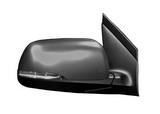 Зеркало правое электрическое с подогревом указателем поворота 7 контактов грунтованное для Киа Пиканто / Kia Picanto - 2 Поколение