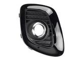Решётка в передний бампер правая для Киа Пиканто / Kia Picanto - 2 Поколение