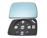 Стекло правого зеркала с подогревом синее для Бмв Е53 X5 / Bmw E53 X5