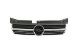 Решетка радиатора хром-черная для Опель Омега Б / Opel Omega B