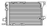 РАДИАТОР КОНДИЦИОНЕРА 1,4 16V/ 1,6 16V/ 1,7TD/ 1,8 16V/ 2,0 16V/ 2,0D