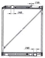 РАДИАТОР ОХЛАЖДЕНИЯ (950 x 818 mm)