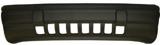 Передний бампер с уплотнителем серый для Джип Гранд Чероки / Jeep Grand Cherokee - 1 Поколение Z