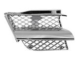 Решётка радиатора правая хром для Митсубиси Аутлендер / Mitsubishi Outlander - 1 Поколение Cu0w