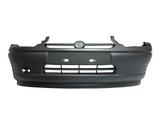 Передний бампер черный для Опель Корса / Opel Corsa B