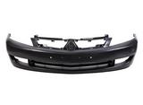 Бампер передний черный для Митсубиси Лансер / Mitsubishi Lancer 9