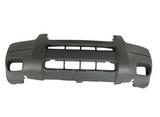 Бампер передний  с отверстиями под птф без отверстий под расширитель черный для Форд Эскейп Америка / Ford Escape Usa