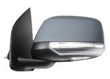 Зеркало левое электрическое с подогревом указателем поворота подсветкой автоскладывателем  для Ниссан Патфайндер Р51 / Nissan Pathfinder R51